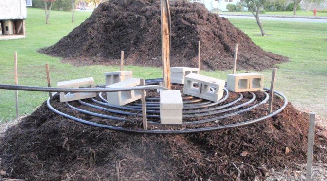Calefacción natural con agua caliente, limpia y economica